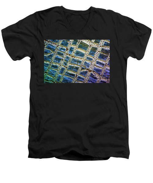Painted Streets Number 1 Men's V-Neck T-Shirt