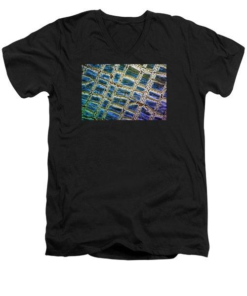 Painted Streets Number 1 Men's V-Neck T-Shirt