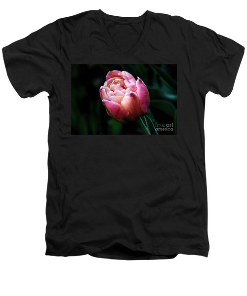 Painted Tulip Men's V-Neck T-Shirt