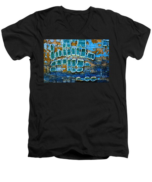 Painted Windows Number 1 Men's V-Neck T-Shirt