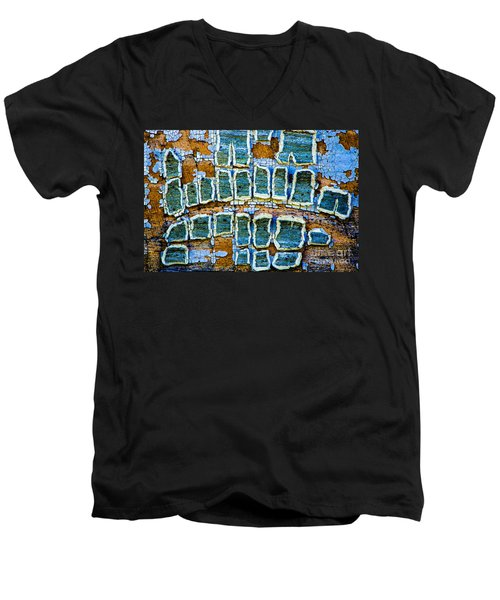 Painted Windows Number 2 Men's V-Neck T-Shirt
