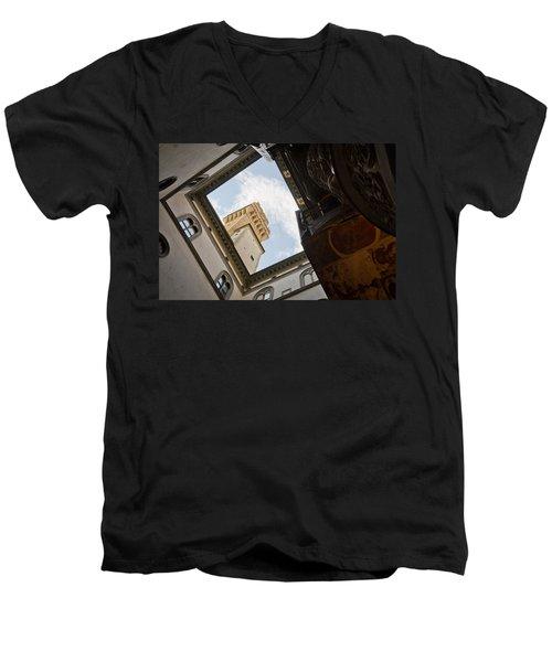 Palazzo Vecchio Men's V-Neck T-Shirt