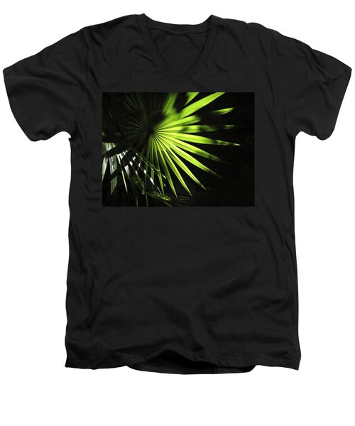 Palmetto And Rays Men's V-Neck T-Shirt