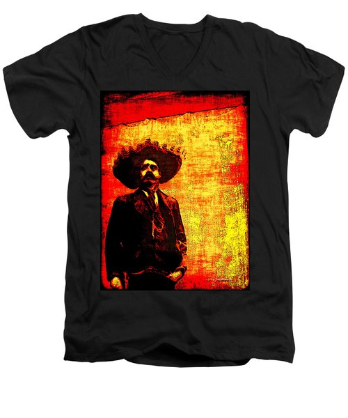 Pancho Villa Men's V-Neck T-Shirt