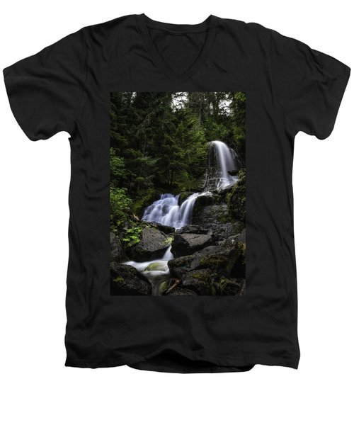 Panther Falls Men's V-Neck T-Shirt