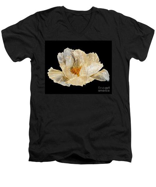 Paper Peony Men's V-Neck T-Shirt