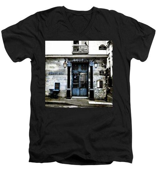 Paris Blues Men's V-Neck T-Shirt