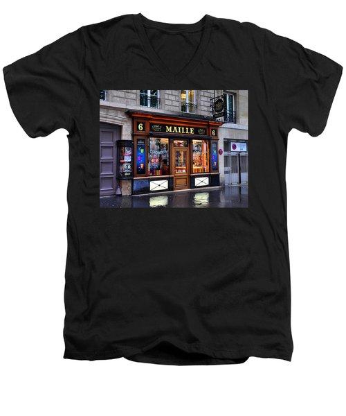 Paris Shop Men's V-Neck T-Shirt