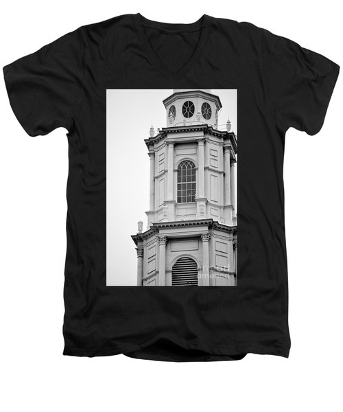 Park Street Church Boston Men's V-Neck T-Shirt