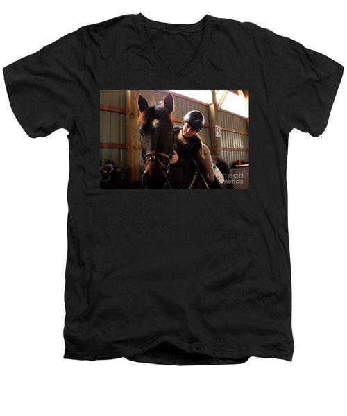 Partnership Men's V-Neck T-Shirt