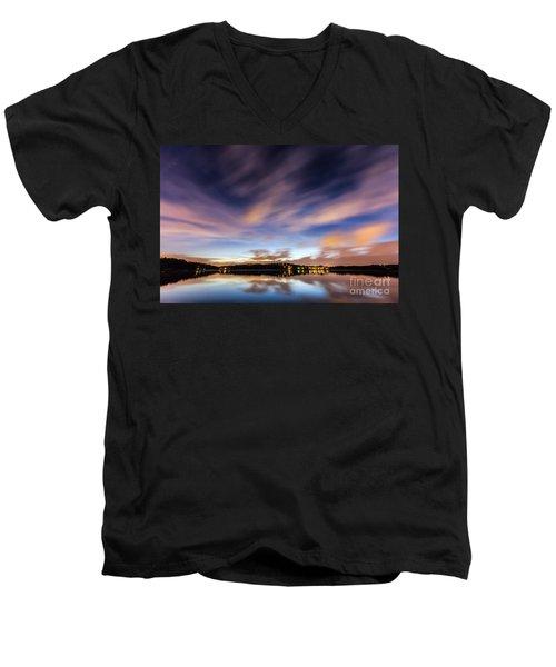 Passing Storm Men's V-Neck T-Shirt