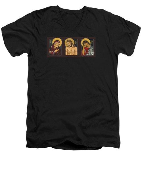 Passion Triptych Men's V-Neck T-Shirt