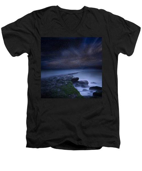 Path To Infinity Men's V-Neck T-Shirt