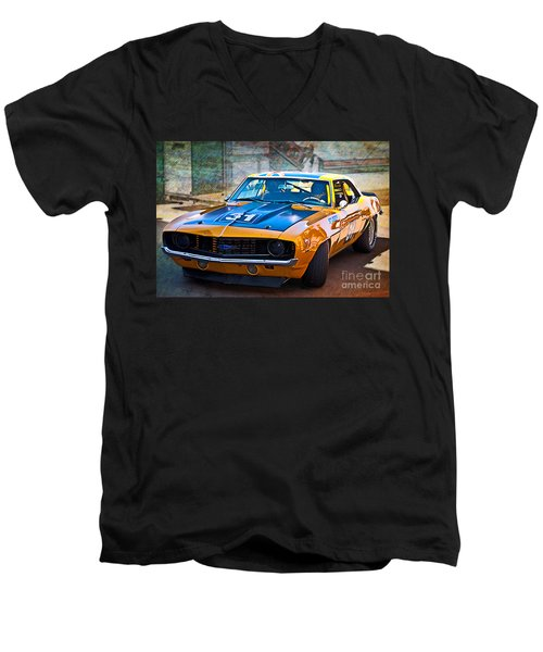 Paul Stubber Camaro Men's V-Neck T-Shirt