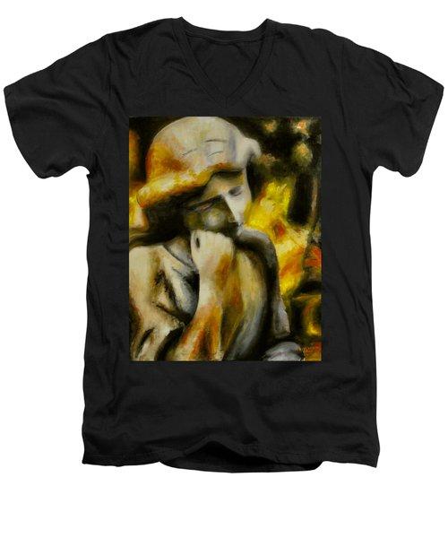 Peace Unending Men's V-Neck T-Shirt