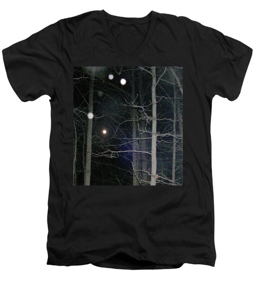 Men's V-Neck T-Shirt featuring the photograph Peaceful Spirits Passing by Pamela Hyde Wilson