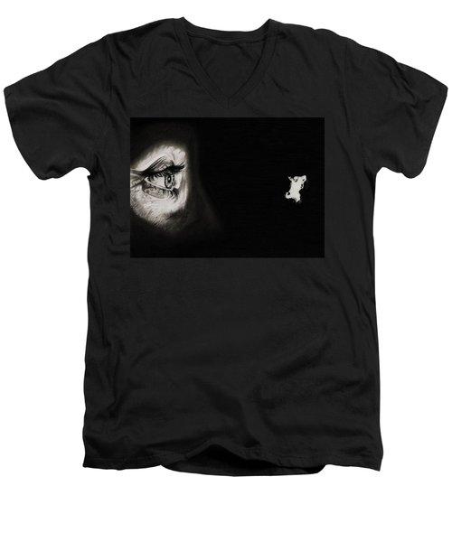 Peeping Tom - Psycho Men's V-Neck T-Shirt