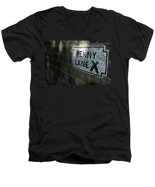 Penny Lane Men's V-Neck T-Shirt