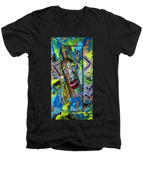 Perception 4  Men's V-Neck T-Shirt