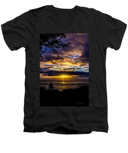 Perfect Morning Men's V-Neck T-Shirt