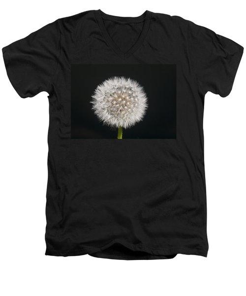 Perfect Puffball Men's V-Neck T-Shirt by Richard Thomas