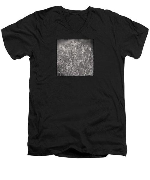 Men's V-Neck T-Shirt featuring the photograph Persian Stars by Jean OKeeffe Macro Abundance Art