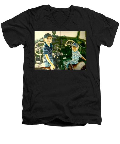Personnel Men's V-Neck T-Shirt by Henryk Gorecki
