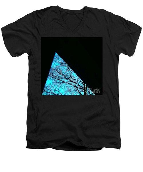 Blue Triangle Men's V-Neck T-Shirt