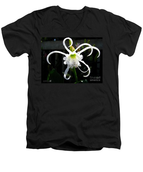 Peruvian Daffodil Named Advance Men's V-Neck T-Shirt