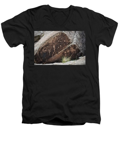 Petroglyphs Men's V-Neck T-Shirt