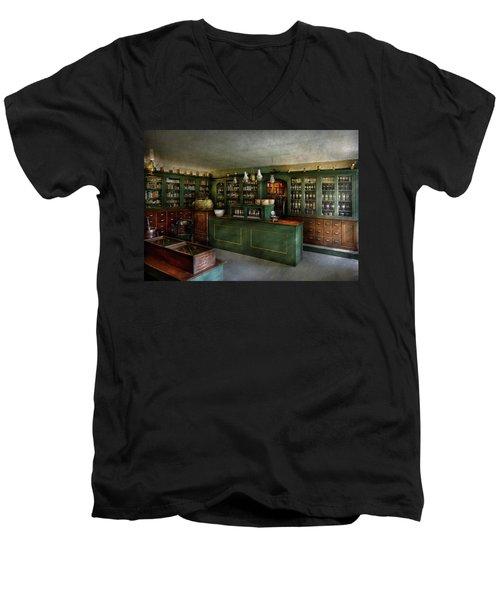 Pharmacy - The Chemist Shop  Men's V-Neck T-Shirt