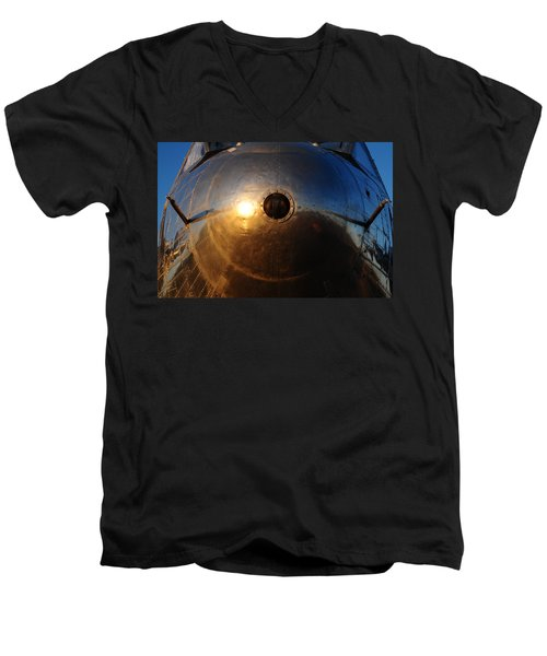 Phoenix Nose Men's V-Neck T-Shirt