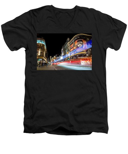 A Night In The West End Men's V-Neck T-Shirt