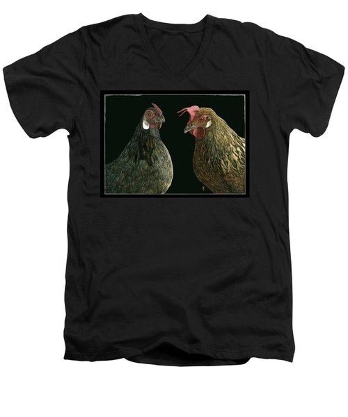 Pick A Little Talk A Little Men's V-Neck T-Shirt