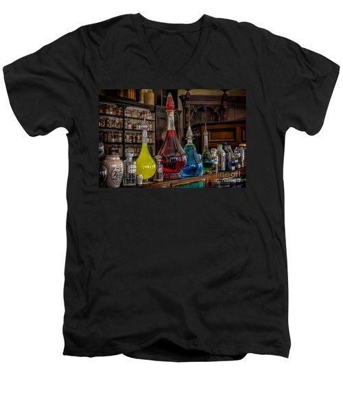 Pick An Elixir Men's V-Neck T-Shirt by Adrian Evans