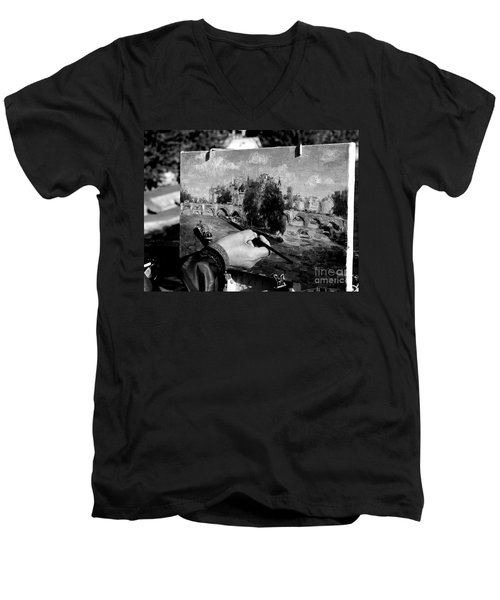 Pic...k The Artist Men's V-Neck T-Shirt