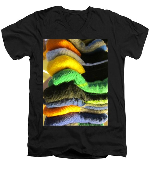 Piled Up Men's V-Neck T-Shirt