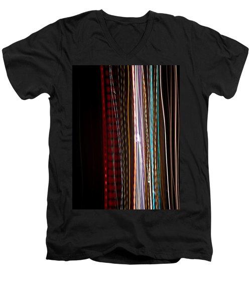 Pilgrimage Of Lights 1 Men's V-Neck T-Shirt by Joel Loftus