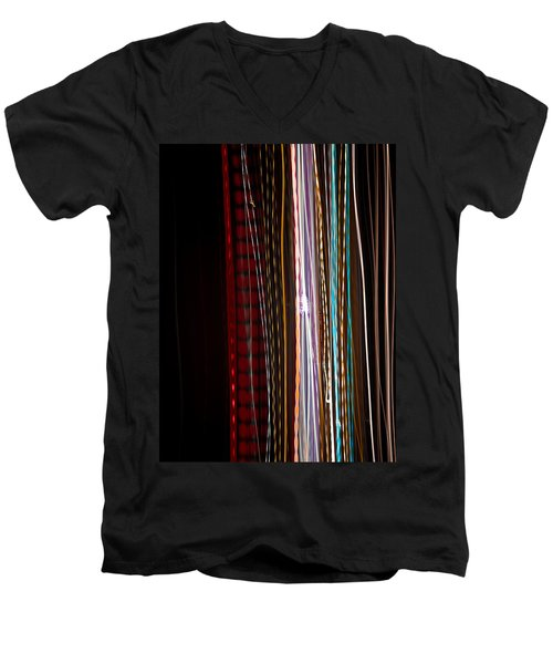 Pilgrimage Of Lights 1 Men's V-Neck T-Shirt