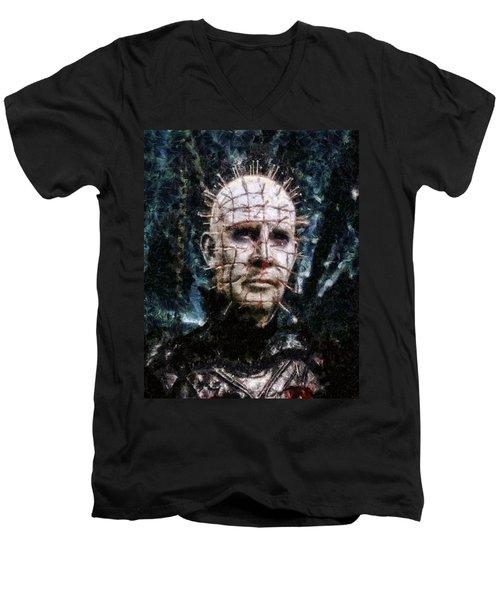 Pinhead Men's V-Neck T-Shirt