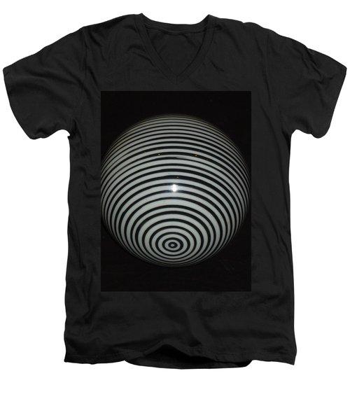 Planet Zebra Men's V-Neck T-Shirt
