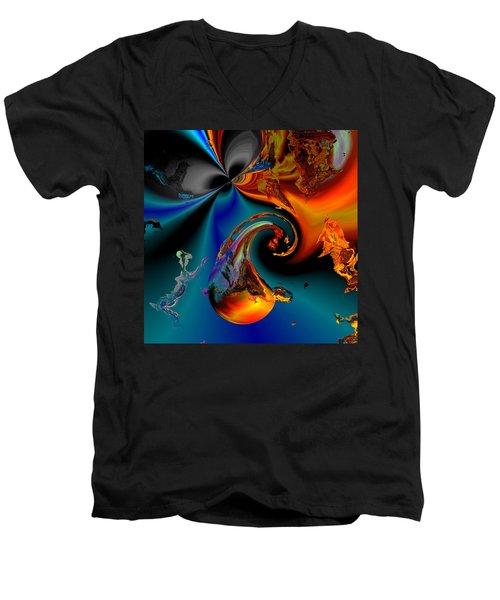 Plate 291 Men's V-Neck T-Shirt