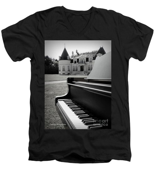 Play Me A Tune Men's V-Neck T-Shirt