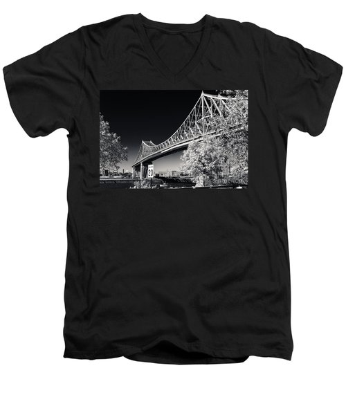 Pont Jacques Cartier Men's V-Neck T-Shirt