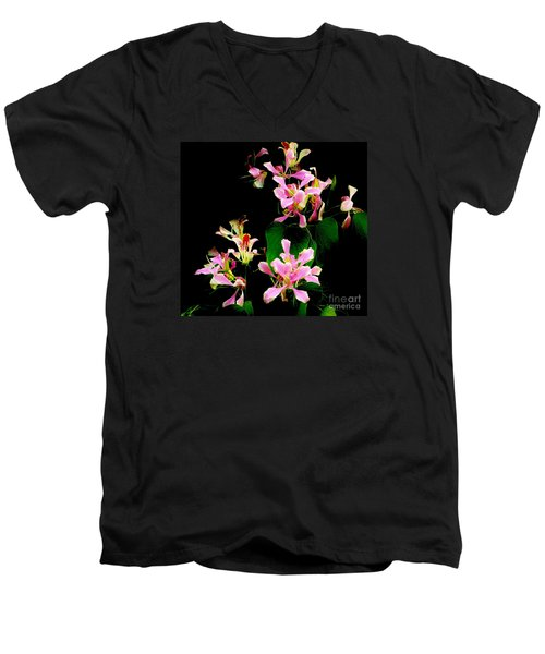 Poor Mans Orchid Men's V-Neck T-Shirt