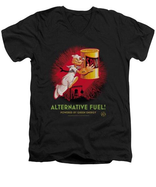 Popeye - Alternative Fuel Men's V-Neck T-Shirt by Brand A