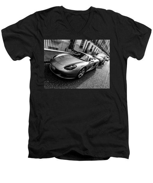 Porsche Carrera Gt Men's V-Neck T-Shirt