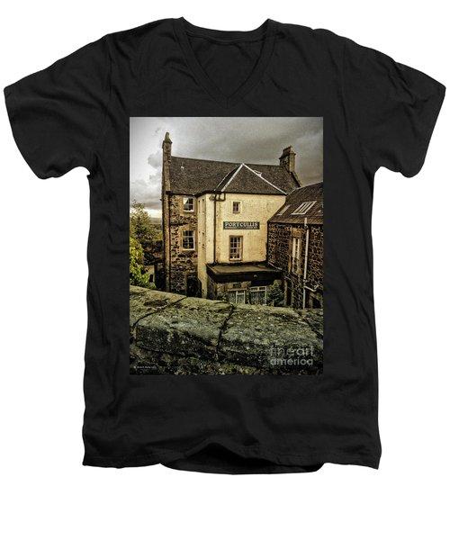 The Portcullis Men's V-Neck T-Shirt