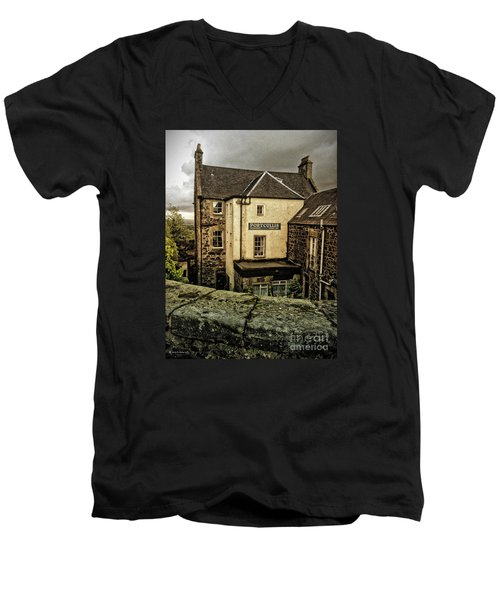 The Portcullis Men's V-Neck T-Shirt