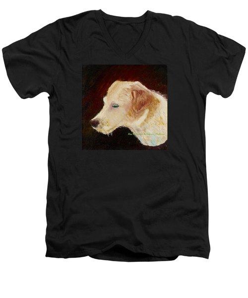 Portrait Of Luke Men's V-Neck T-Shirt